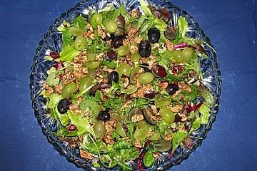 Weintraubensalat