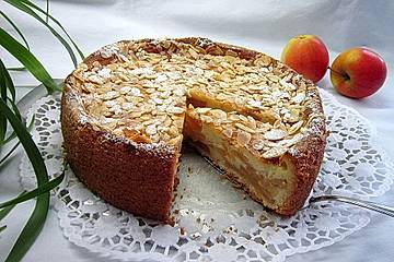 Feine Apfel-Vanille-Torte