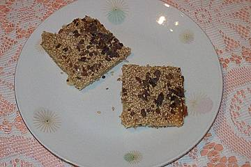 Marzipan-Sesam-Streifen