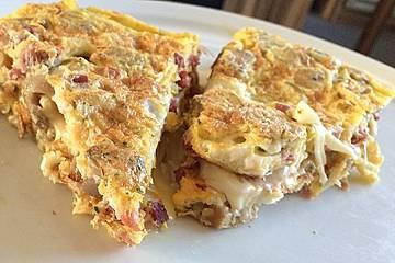 Gefülltes Omelett