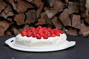 Erdbeer-Mascarpone-Torte Low Carb