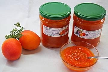 Raffinierte Aprikosenmarmelade