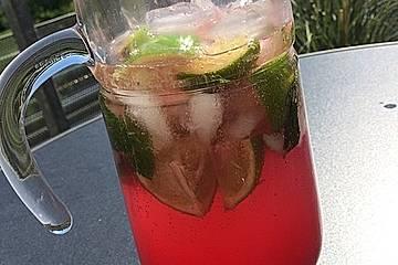 Granatapfel-Minz-Limonade