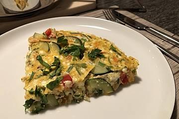 Leichte-Gemüse-Tortilla