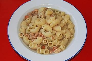 Nudel-Bohnen-Eintopf