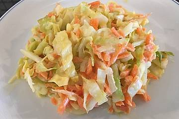 """Amerikanischer Krautsalat """"Coleslaw"""""""