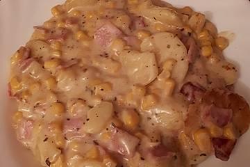Kartoffel-Mais-Eintopf