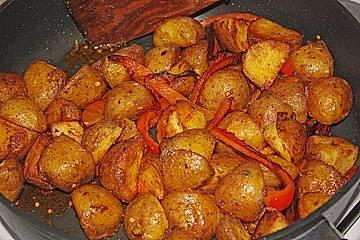 Spanische Kartoffeln