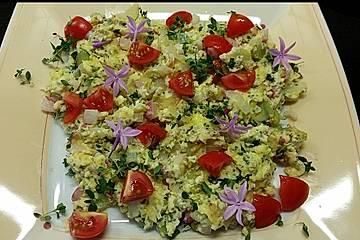 Low Carb Eier-Gemüseschmarrn