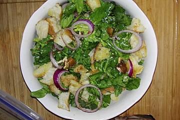 Hurmali ıspanak salatasi