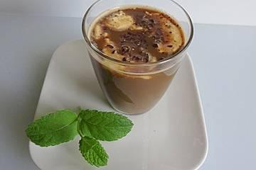 Kalter Kaffee-Cocktail