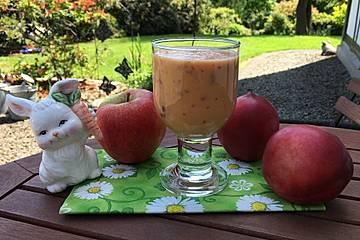 Apfel-Nektarinen-Drink