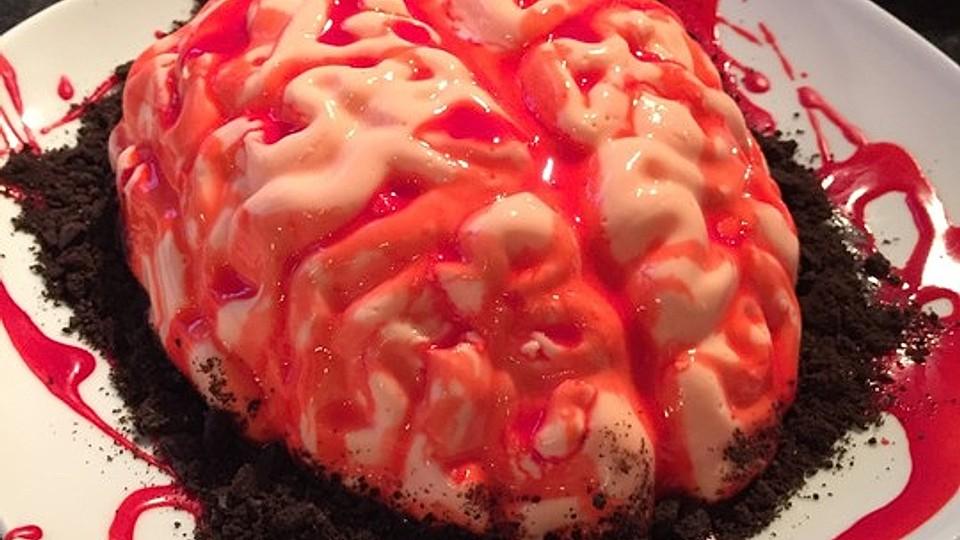 Gruselige Rezepte Halloween.Grusel Gehirn Von Fronatur Chefkoch