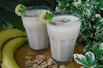 Bananen-Hafer-Shake