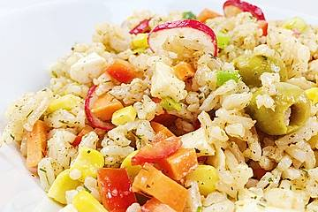 Türkischer Reissalat