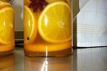 Orangenzwiebeln