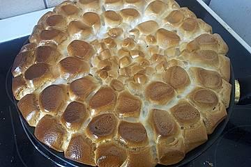 Marshmallows aus dem Ofen