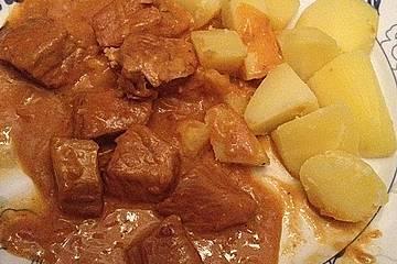 Pikantes Schmorgulasch