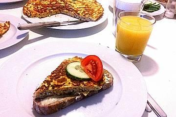 Ei-Gemüse-Omelett