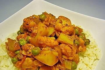 Blumenkohl - Reisgericht