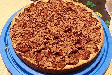 Ollis veganer Dinkel-Zwetschgenkuchen