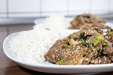 Bulgogi – Koreanisches Rindfleisch
