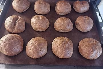 Low carb Frischkäse Brötchen