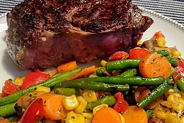 Tomahawk-Steak im Backofen