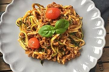 Spaghetti hackfleisch tomatensauce rezept