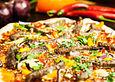 Asiatische-Rindfleisch-Pizza