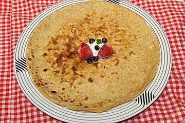 Vollwert-Pfannenkuchen