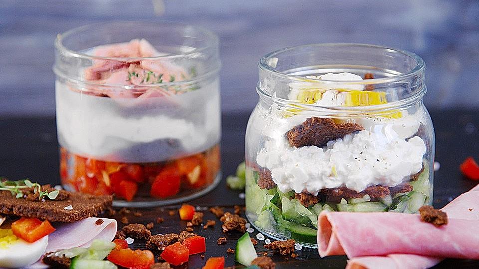 Sandwich im Glas von hannah_kocht_einfach | Chefkoch