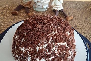 Maulwurf-Torte