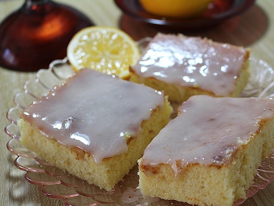 zitronenkuchen mit öl statt butter