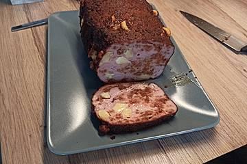 BBQ-Fleischkäse mit Käse