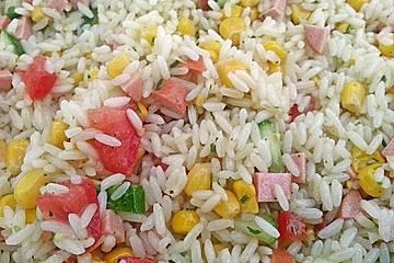 Reissalat ohne Mayonnaise