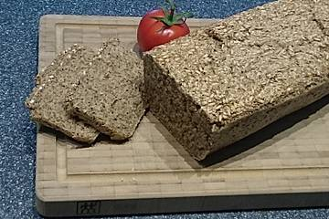 Gewürztes Dinkel-Chia-Hafer-Brot