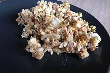 Thunfisch-Ei-Salat