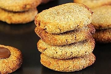 Cookies mit nur zwei Zutaten