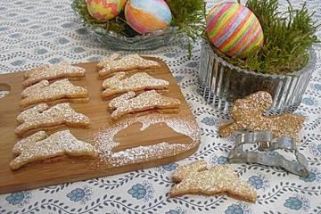Teegebäck für Ostern