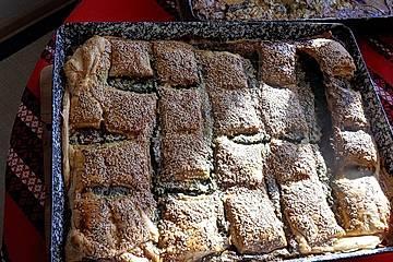 Schneller griechischer Spinatkuchen mit dem Blubb