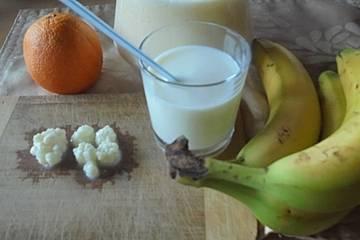 Bananen-Orangen-Kefir