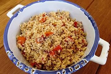 Tomaten-Couscous mit Minze