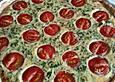 Baerlauch-Tomaten-Quiche