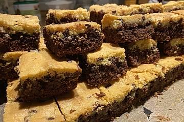 Brookies - Brownies mit knuspriger Cookie-Kruste