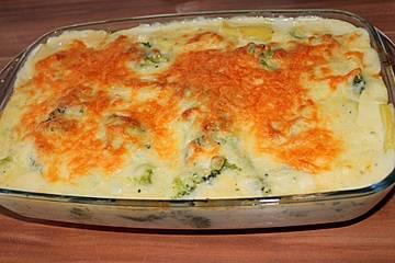 Kartoffel-Brokkoli-Gratin