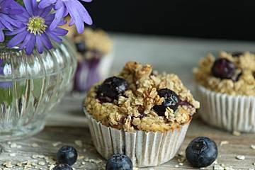 Gesunde Heidelbeer-Muffins