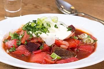 Borschtsch - Klassiker der osteuropäischen Küche