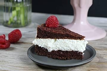 Low Carb Milchschnitten-Torte