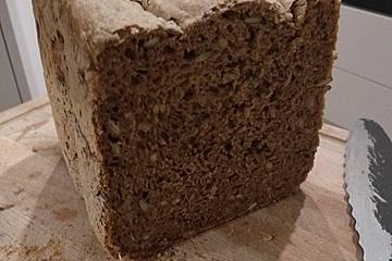 Körnerbrot für den Brotbackautomaten